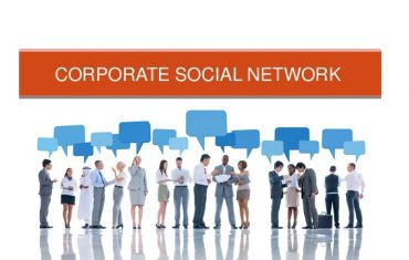 Corporate Social Network